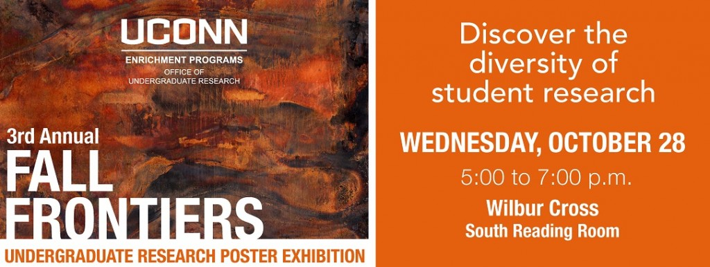 2015 Fall Frontiers Poster Exhibition