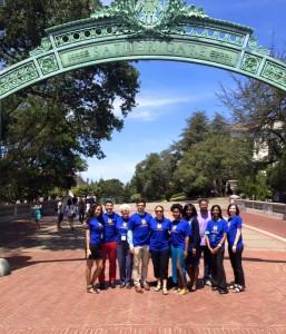 McNair Scholars group photo at UC Berkeley