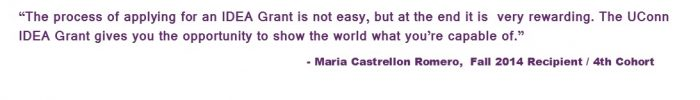 Maria Castrellon Romero Quote