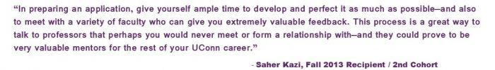 Saher Kazi Quote