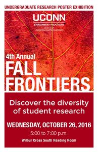 Fall Frontiers 2016