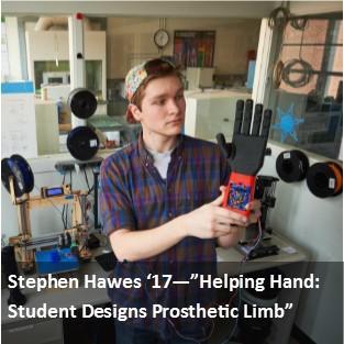 Stephen Hawes '17