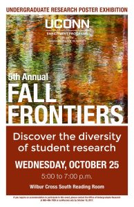 Fall Frontiers 2017 Poster