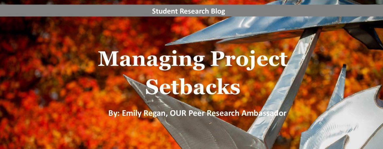 Managing Project Setbacks blog image