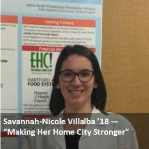 Savannah-Nicole Villalba '18
