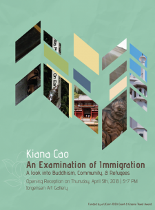 Kiana Cao Exhibition Poster