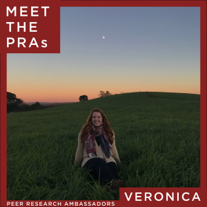 Meet the Peer Research Ambassadors: Veronica