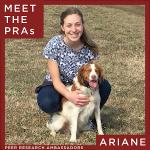 Peer Research Ambassador Ariane Garrett