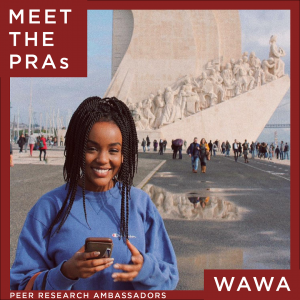 Meet the Peer Research Ambassadors: Wawa