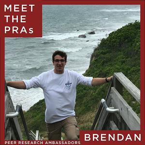 Meet the Peer Research Ambassadors: Brendan
