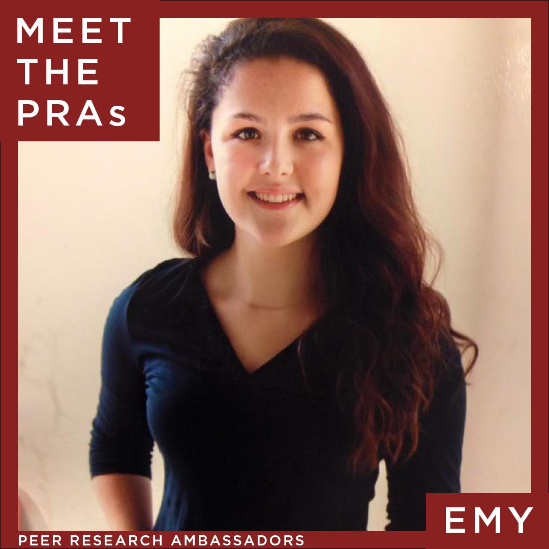 Meet the Peer Research Ambassadors: Emy Regan
