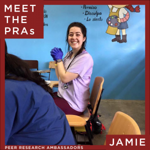 Meet the Peer Research Ambassadors: Jamie