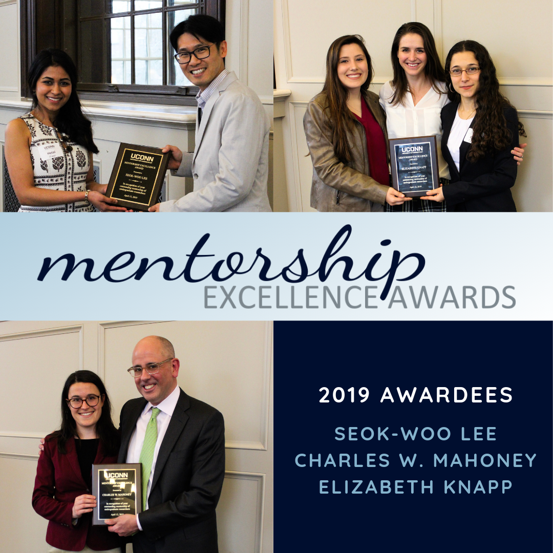 2019 Mentorship Excellence Award Recipients