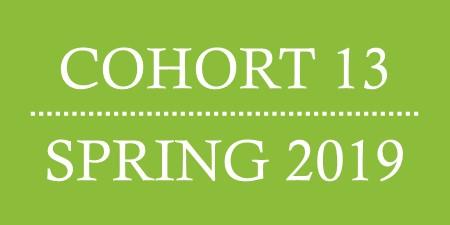 Cohort 13. Spring 2019.