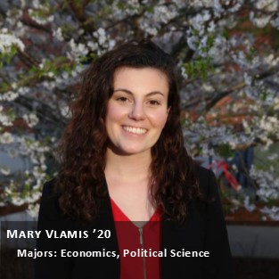OUR Peer Research Ambassador Mary Vlamis.
