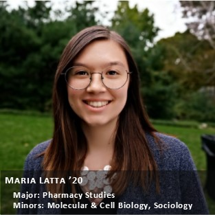 OUR Peer Research Ambassador Maria Latta.