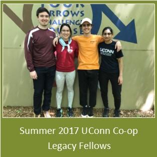 Summer 2017 UConn Co-op Legacy Fellows