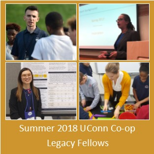 Summer 2018 UConn Co-op Legacy Fellows
