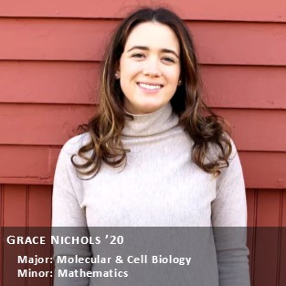 OUR Peer Research Ambassador Grace Nichols.