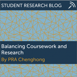 Balancing Coursework and Research. By PRA Chenghong.