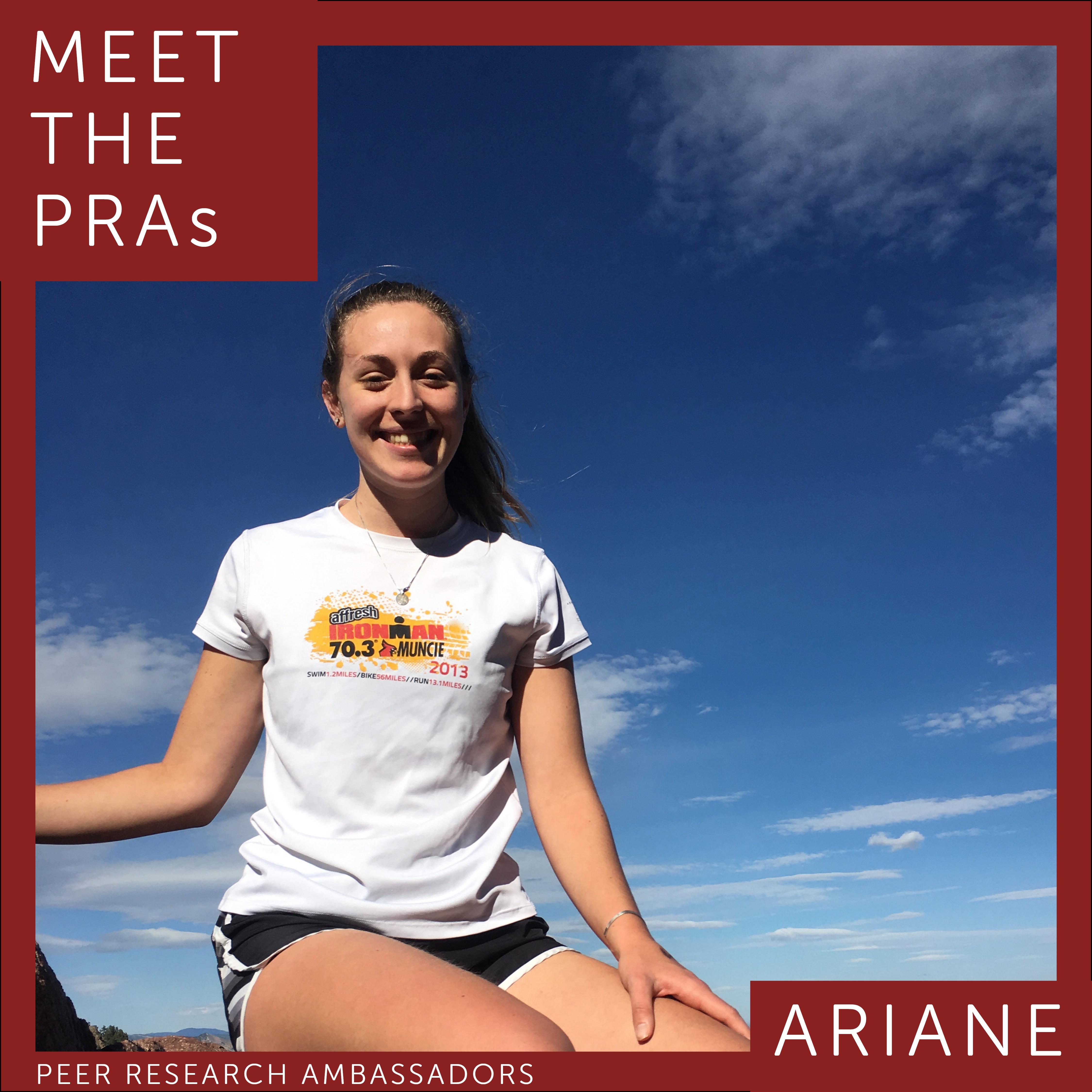Meet the PRAs. Ariane.