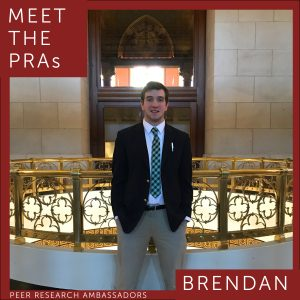 Meet the PRAs. Brendan.