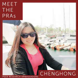 Meet the PRAs. Chenghong.