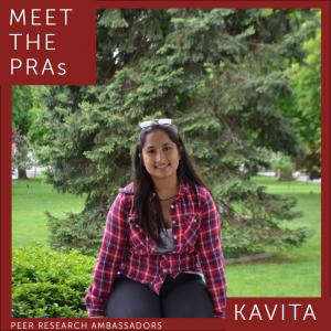 Meet the PRAs. Kavita.