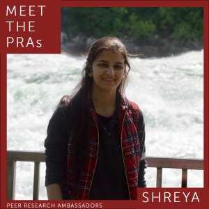 Meet the PRAs. Shreya.