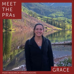 Meet the PRAs: Grace.