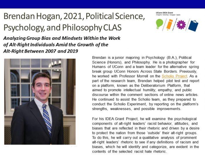 Brendan Hogan Bio.