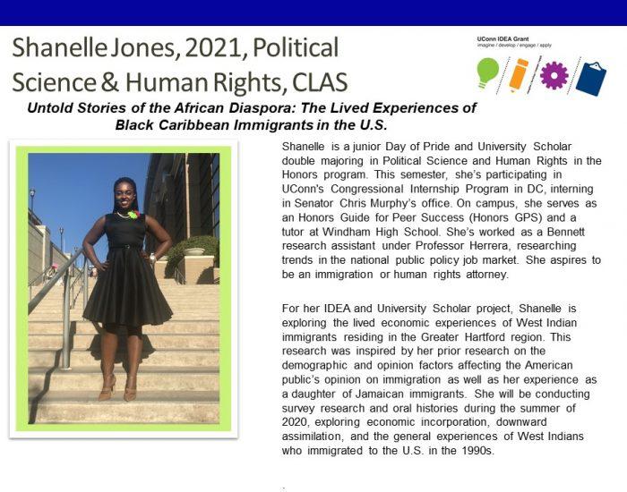 Shanelle Jones Bio.