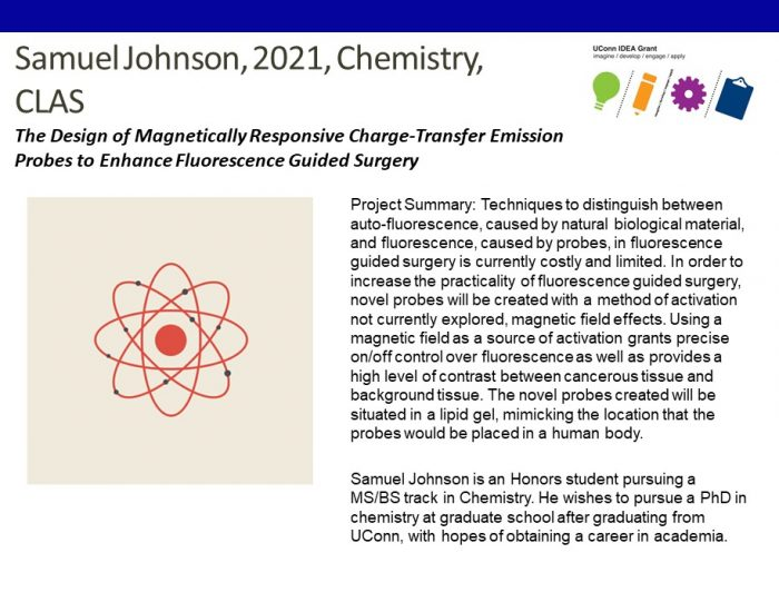 UConn IDEA Grant Recipient Samuel Johnson Bio.