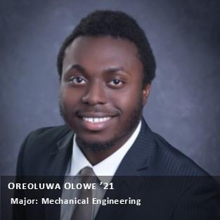 Oreo Olowe '21.