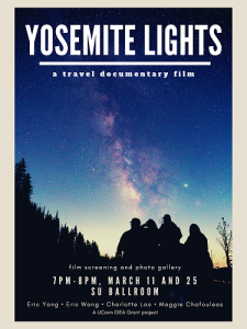 Yosemite Lights Screening Poster