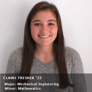 Claire Fresher '22