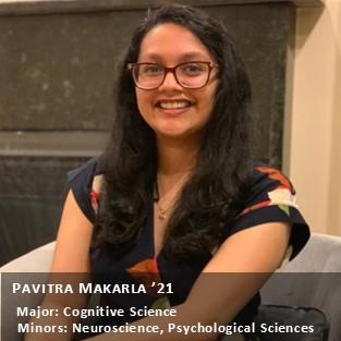 Pavitra Makarla '21.