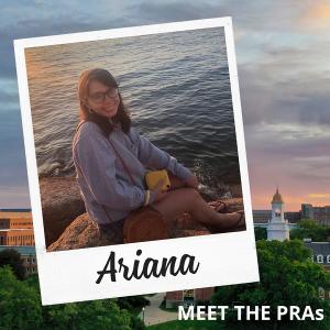 Meet the PRAs - Ariana.