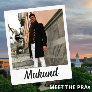 Meet the PRAs - Mukund.