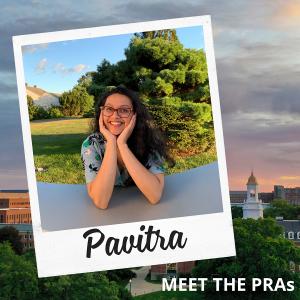 Meet the PRAs: Pavitra.