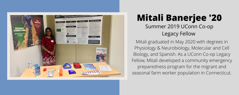 Mitali Banerjee '20 Co-op Legacy Project Portrait.