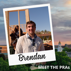 Meet the PRAs - Brendan.