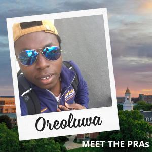 Meet the PRAs - Oreoluwa.
