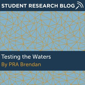Testing the Waters. By PRA Brendan.