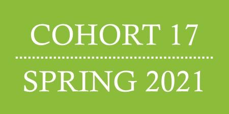 Cohort 17, Spring 2021.