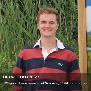OUR Peer Research Ambassador Drew Tienken '22.