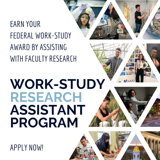Work-Study Research Assistant Program: Apply Now!
