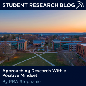 Approaching Research With a Positive Mindset. By PRA Stephanie.