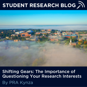 Shifting Gears: The Importance of Questioning Your Research Interests. By PRA Kynza.