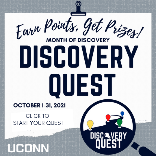 Earn points, get prizes! Month of Discovery - Discovery Quest. Click to start your quest.